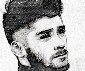 zayn malik, one direction, and picture edit image