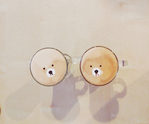 coffee, bear, and kawaii image