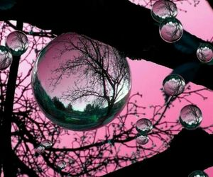 beautiful, bubbles, and childhood image