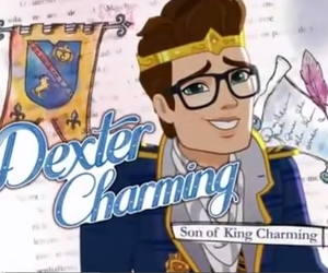 ever after high, dexter charming, and son of the king charming image