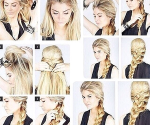 hair, hairstyle, and elsa image