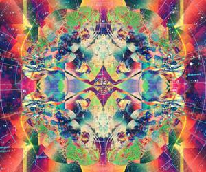 trippy, colorful, and psychedelic image