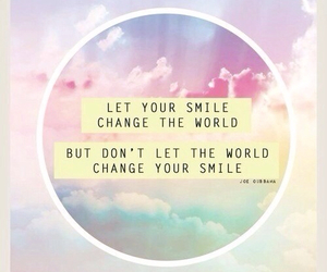 smile, world, and quote image