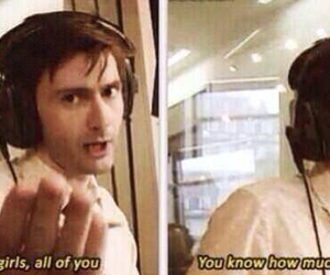 david tennant, doctor who, and harry potter image
