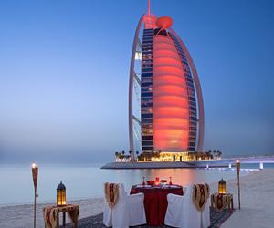Dubai, romantic, and beach image