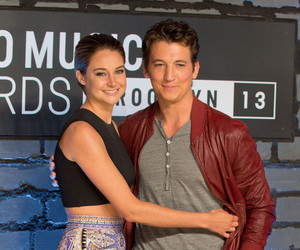 Shailene Woodley, divergent, and miles teller image