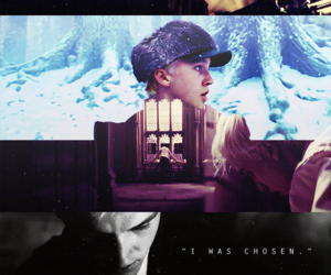 draco malfoy, harry potter, and chosen image