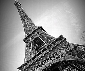 paris, beautiful, and black and white image