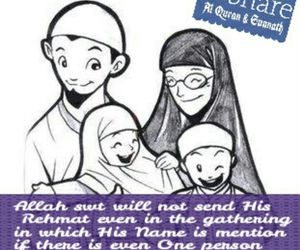 allah, children, and family image