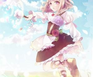 anime girl, pixiv fantasia, and fallen kings image