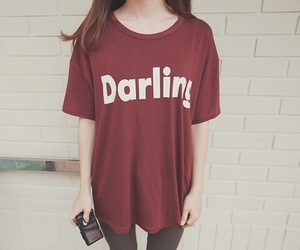 darling, clothes, and girl image