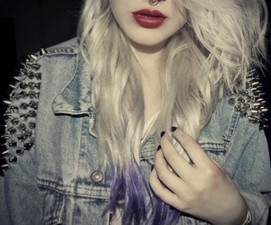 girl, hair, and grunge image