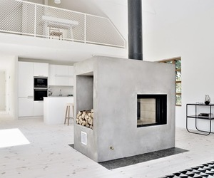 grey, house, and interior image