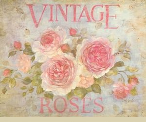 flowers, girly, and vintage image