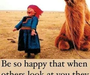 happy, smile, and camel image