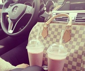 car, Louis Vuitton, and bag image