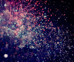 colorful and fireworks image