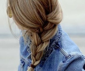 braid, hair, and girl.beautiful image