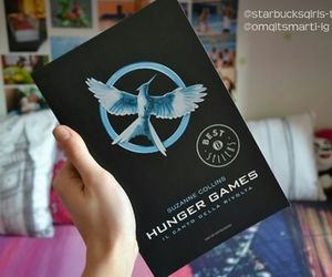 book, english, and the hunger games image
