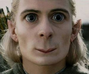 elf, lord of the rings, and orlando bloom image