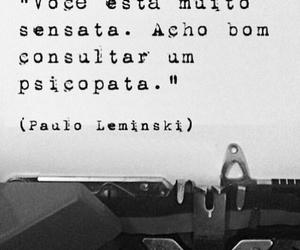 book, quote, and leminski image