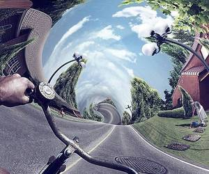 trip, bike, and drugs image