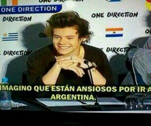 argentina, Harry Styles, and perfection image