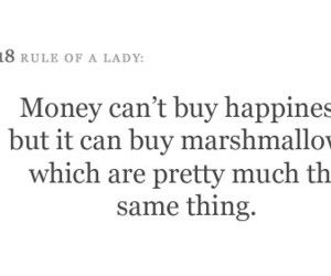 happiness, marshmallow, and money image