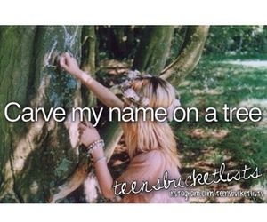 before i die, carve, and bucket list image