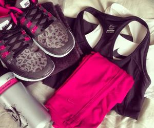 sport, nike, and pink image
