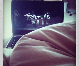 bed, jake t austin, and the fosters image