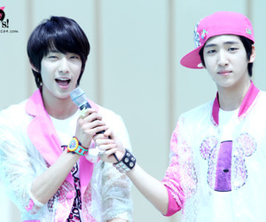 hat, baro, and b1a4 image