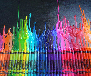 colors, crayon, and color image