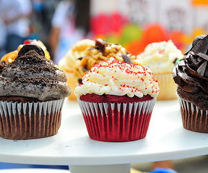 candy, cupcake, and sweet image