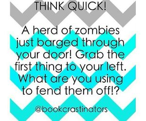 funny and zombies image