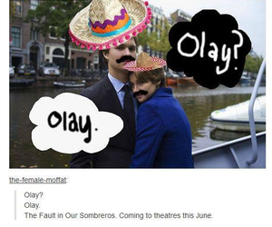 olay, the fault in our stars, and tfios image