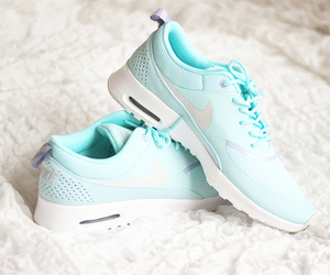 fashion, nike, and running shoes image