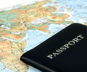 travel, world, and passport image
