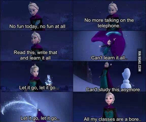 frozen, let it go, and elsa image