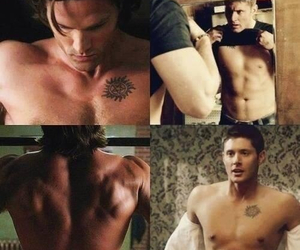 dean winchester, spn, and jared padalecki image