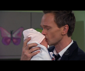 baby, Barney Stinson, and father image