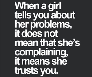 girl, trust, and quote image