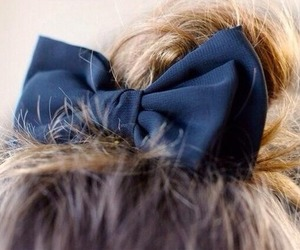 fancy, navy blue, and hair image
