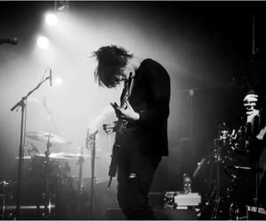 black and white, concert, and gig image