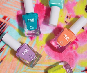 pink, nails, and colorful image