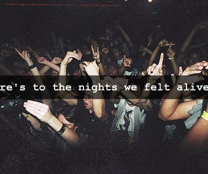 party, night, and alive image