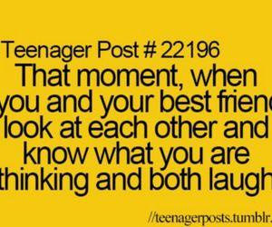 friends, laugh, and best friends image