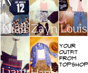 fashion, 1d preferences, and topshop image