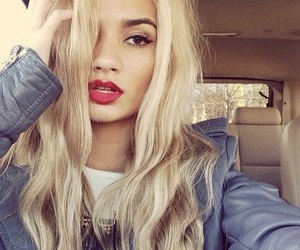 pia mia, blonde, and beauty image