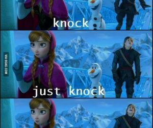 frozen, funny, and movie image